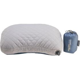 Cocoon Air Core Down Travel Pillow dark indigo/grey